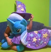 The Great and the Powerful life-size Trixie plush by agatrix