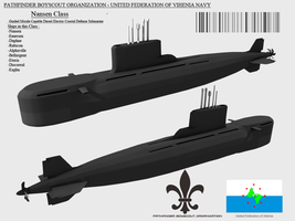Nansen Class Coastal Defense Submarine by Stealthflanker