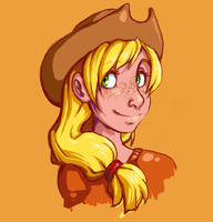 Applejack by spudjuice