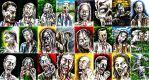 The Walkers Among Us - zombie sketch cards 4 by siebo7