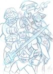 Masters of the universe Heroic warriors by Granamir30