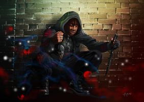 Shadowrun Commission Art 01 by raben-aas