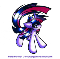 .: Twilight Sparkle :. by ColorSergeant