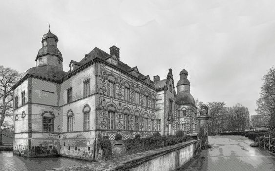 Watercastle Soest Germany by taisteng