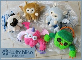 Alpacas:::Pug::::Monsters by Witchiko