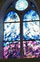 Church window 2 by bluesgrass