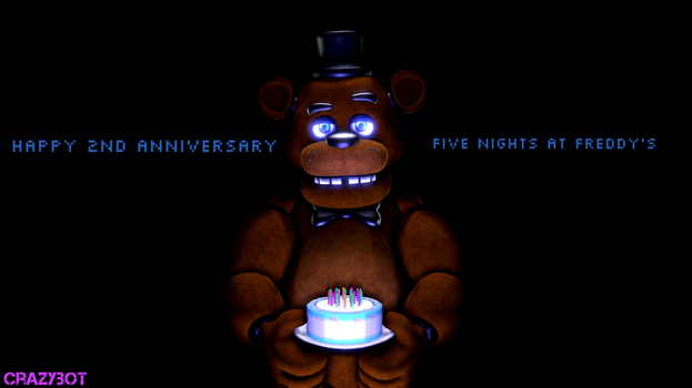 happy 2nd anniversary you cringy fandom by crazybot1231
