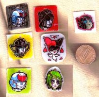 Autobot charms and one harley by batchix