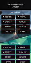 Twitch Button Design by PaulDokr
