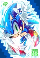 SONIC MOVE by SPIRALCRIS