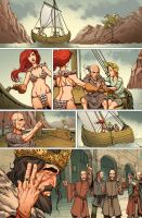 Red Sonja: Atlantis Rises 15 by MarkHRoberts