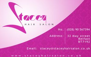 Stacey Hair Salon Business Card by cobra892