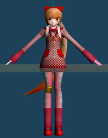 WIP - Iroha Nekomura by Calculated-Lie