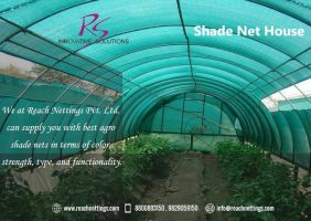 Shade Net House by Reachnetting