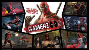 Deadpool Gamerz wallpaper HD by maximumsohan