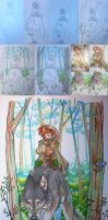 In the woods - Progress by housunnappi