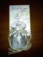 Gusseted Drawstring Card Pouch by ElvenTailor
