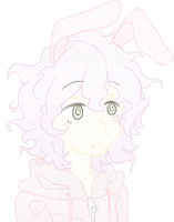Small Bunny Komaeda by ThemostamazingJenn