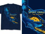 T-Shirt Design Chalet 01 by RobDuenas
