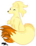 0038 Ninetails by Dragon-Master-Naya