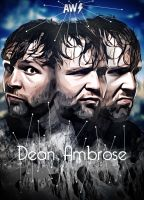Dean Ambrose Poster 2013 AW-Edition by AW-Edition