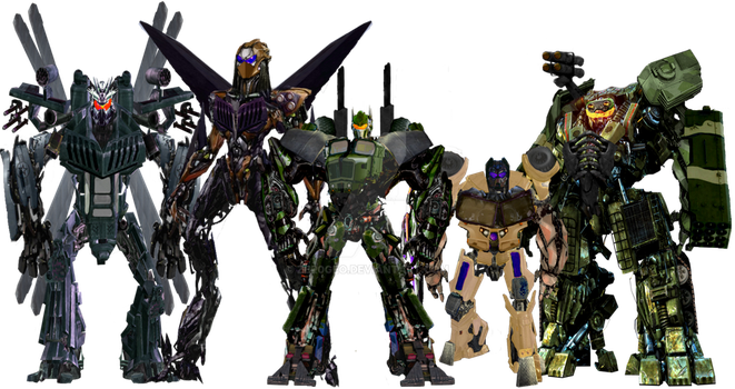 Transformers Movie Concept: The Combaticons by ZER0GEO