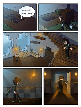 Shattered Light: A Herobrine Comic - Page 6 by owlmaddie