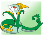 Serperior by PokeHihi