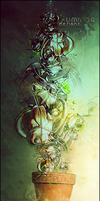 Abstract Plant by LuminorDesigns
