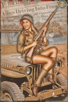 Pinups - D-Day Tribute by warbirdphotographer