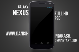 Galaxy Nexus [psd] by danishprakash