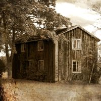 The old house by BlueShadowM