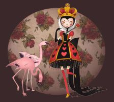 The Queen of Hearts by IAMTHESTRANGE