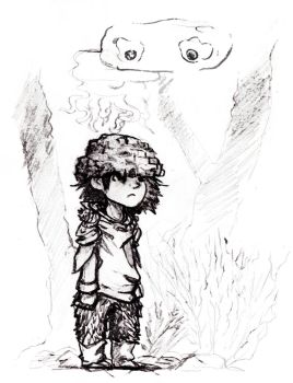 The kid from the forest by Cienuma