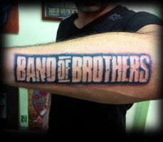 Band of brothers tattoo by jerrrroen