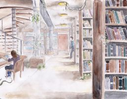 library by beami