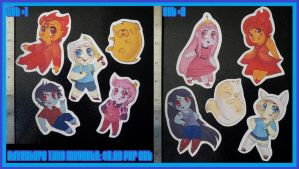 Adventure Time Magnet sets by Busoni