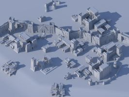 Ptolemaic town by LordGood