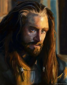 Thorin Oakenshield by Tavra