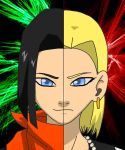 Twin Androids by Ariaera