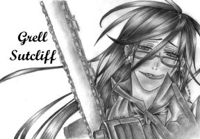 Grell Sutcliff by r-a-ven