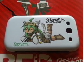 Solatorobo Suzette's mobile protection by skyian