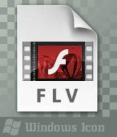 FLV File - Icon by ssx