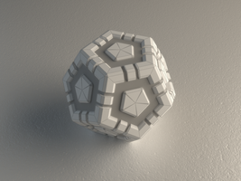 Dodecahedron by Hafunui