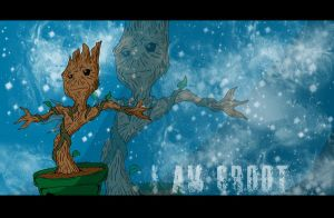 I am Groot by DanH-Art