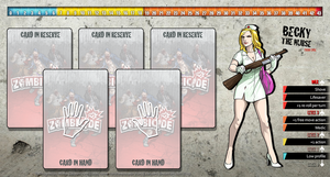 Zombicide Redesigned Character Sheet - Becky by ZAQUARD
