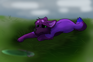I'm Too Afraid Of Letting Go (Speedpaint link) by Violetalphawolf