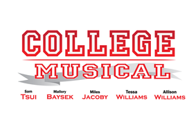College Musical Logo WIP by jackanarchy99