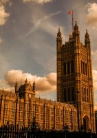 Victoria Tower by abumpinthenight