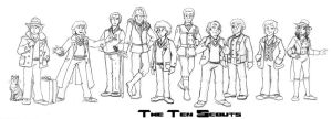 The Ten Scouts! by Gorpo